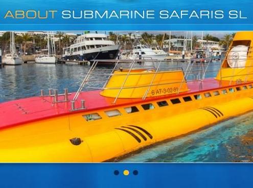submarine safari banner